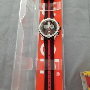 Swatch watch unisex IronhXlite new with box and in